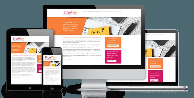 PerfectOnline website design