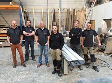 Interieurbouw zakelijke website